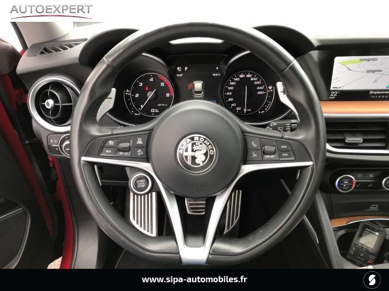 Alfa romeo Stelvio 2.2 Diesel 180ch Lusso AT8 Rouge occasion à Mérignac - photo n°16
