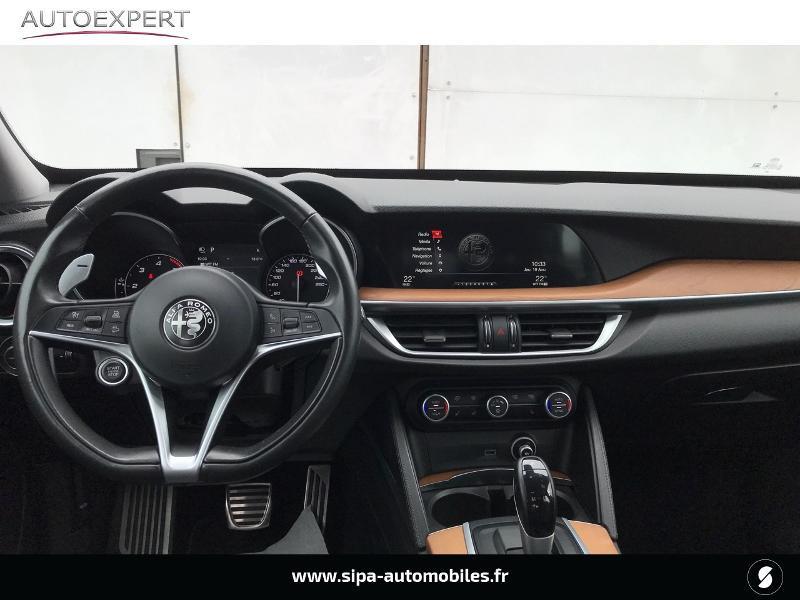 Alfa romeo Stelvio 2.2 Diesel 180ch Lusso AT8 Rouge occasion à Mérignac - photo n°3