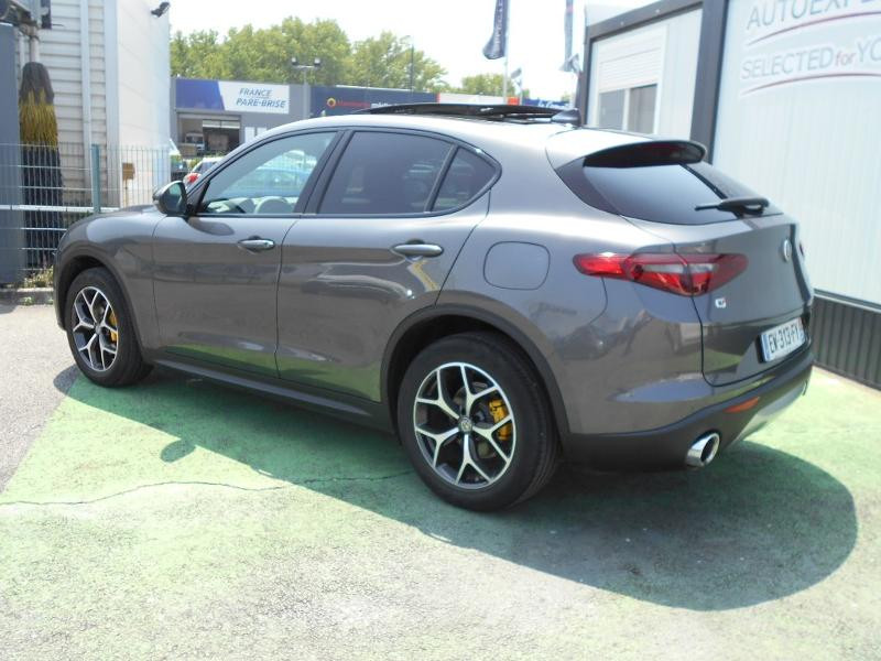 Alfa romeo Stelvio 2.2 Diesel 180ch Sport Edition AT8 Gris occasion à Toulouse - photo n°2