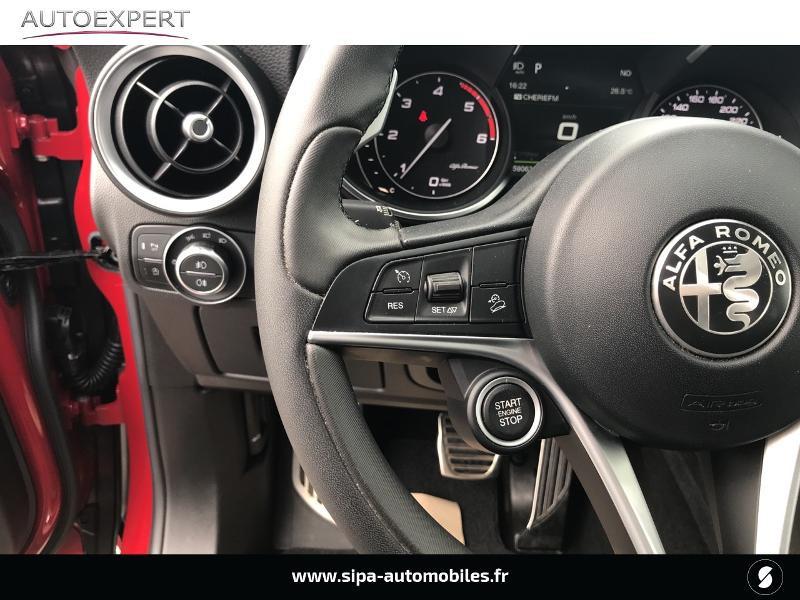 Alfa romeo Stelvio 2.2 Diesel 180ch Super AT8 Rouge occasion à Mérignac - photo n°18