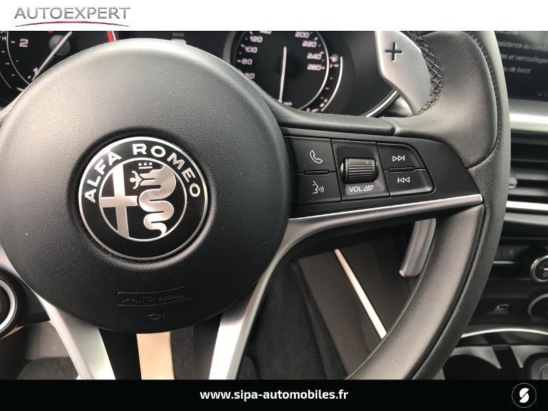 Alfa romeo Stelvio 2.2 Diesel 180ch Super AT8 Rouge occasion à Mérignac - photo n°19
