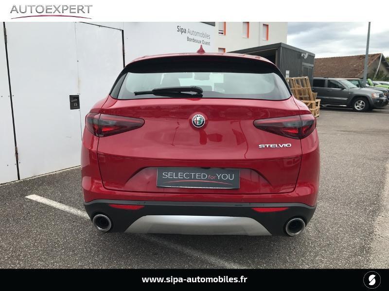 Alfa romeo Stelvio 2.2 Diesel 180ch Super AT8 Rouge occasion à Mérignac - photo n°9