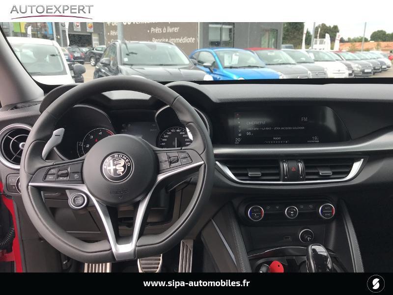 Alfa romeo Stelvio 2.2 Diesel 180ch Super AT8 Rouge occasion à Mérignac - photo n°3