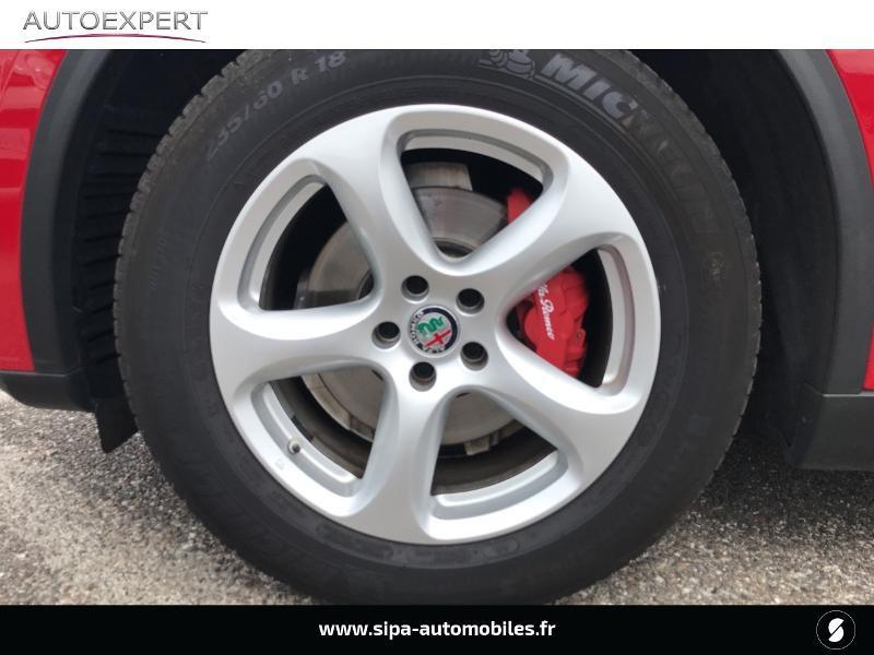 Alfa romeo Stelvio 2.2 Diesel 180ch Super AT8 Rouge occasion à Mérignac - photo n°7