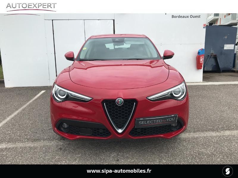 Alfa romeo Stelvio 2.2 Diesel 180ch Super AT8 Rouge occasion à Mérignac - photo n°8