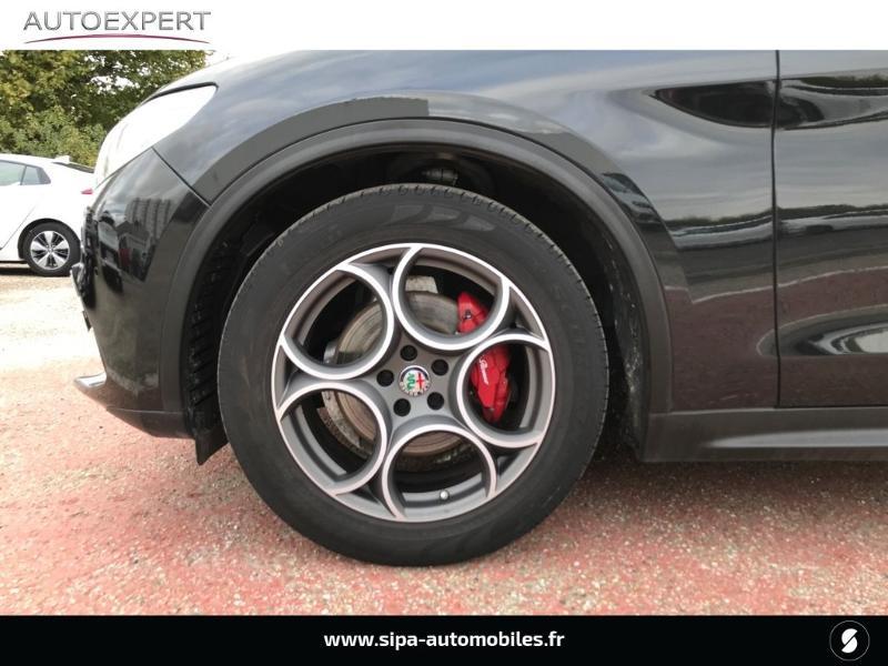 Alfa romeo Stelvio 2.2 Diesel 180ch Super AT8 Noir occasion à Libourne - photo n°7