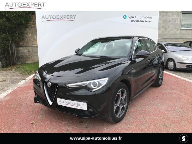 Alfa romeo Stelvio 2.2 Diesel 180ch Super AT8 Noir occasion à Libourne