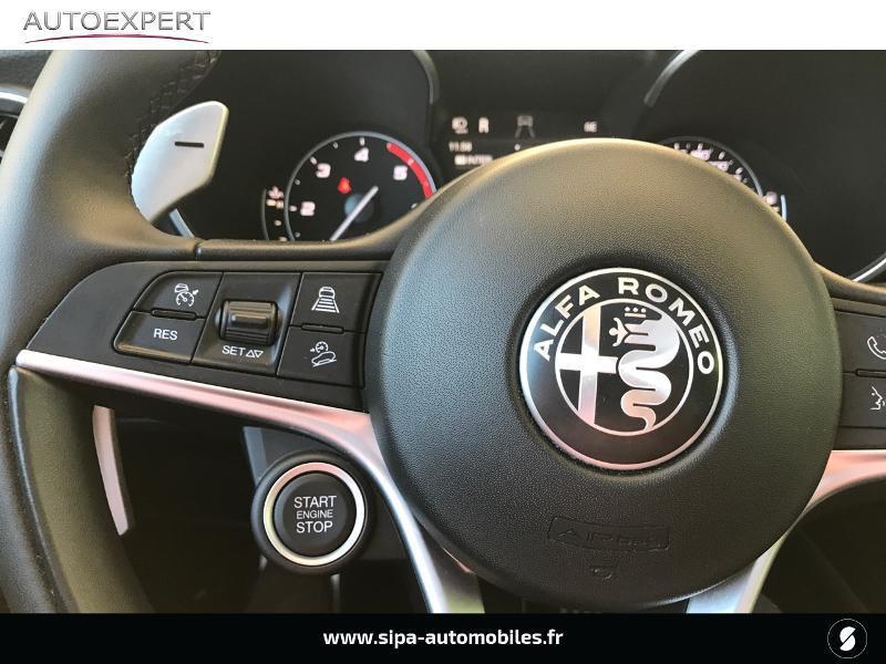 Alfa romeo Stelvio 2.2 Diesel 190ch Executive AT8 MY19 Noir occasion à Le Bouscat - photo n°15