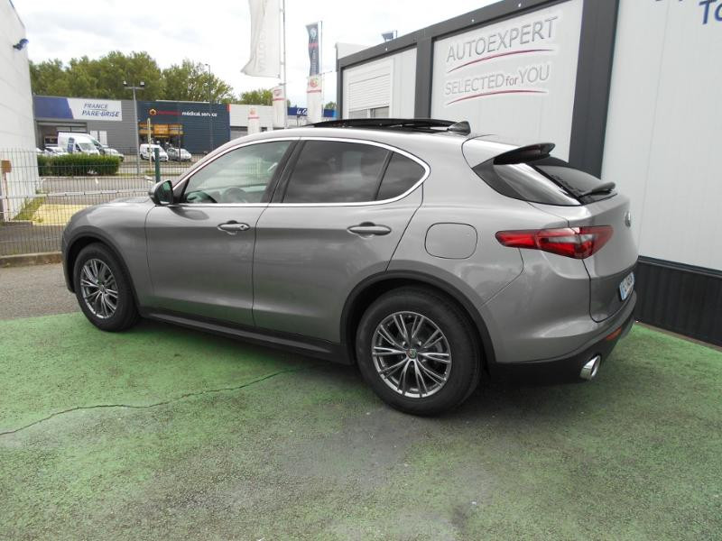 Alfa romeo Stelvio 2.2 Diesel 190ch Executive AT8 MY19 Gris occasion à Toulouse - photo n°2