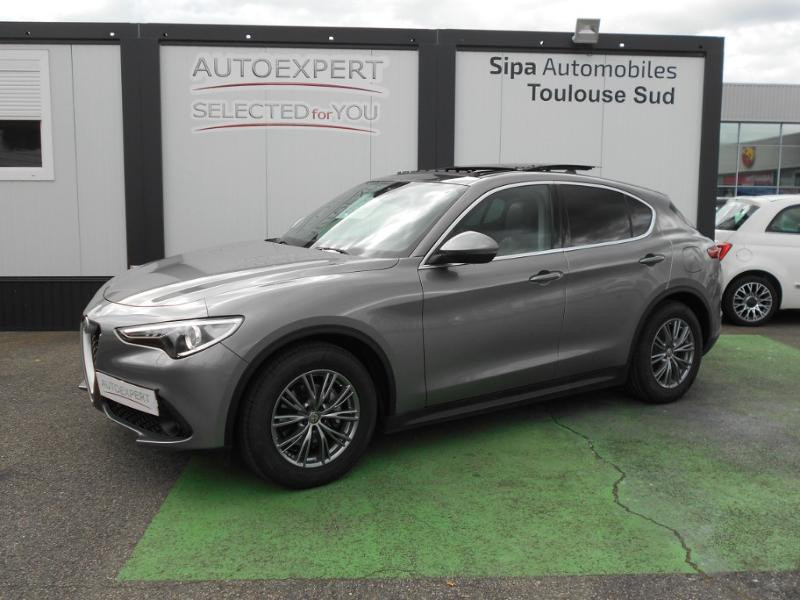 Alfa romeo Stelvio 2.2 Diesel 190ch Executive AT8 MY19 Gris occasion à Toulouse