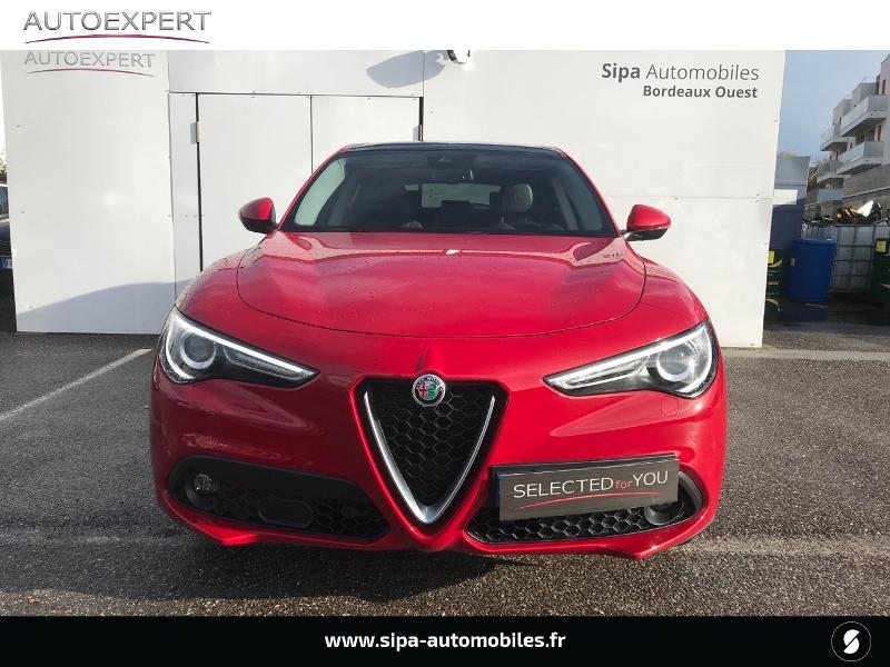 Alfa romeo Stelvio 2.2 Diesel 190ch Executive Q4 AT8 MY19 Rouge occasion à Mérignac - photo n°8