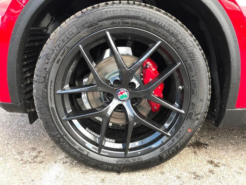 Alfa romeo Stelvio 2.2 Diesel 190ch Sprint Q4 AT8 MY21 Rouge occasion à Mérignac - photo n°8