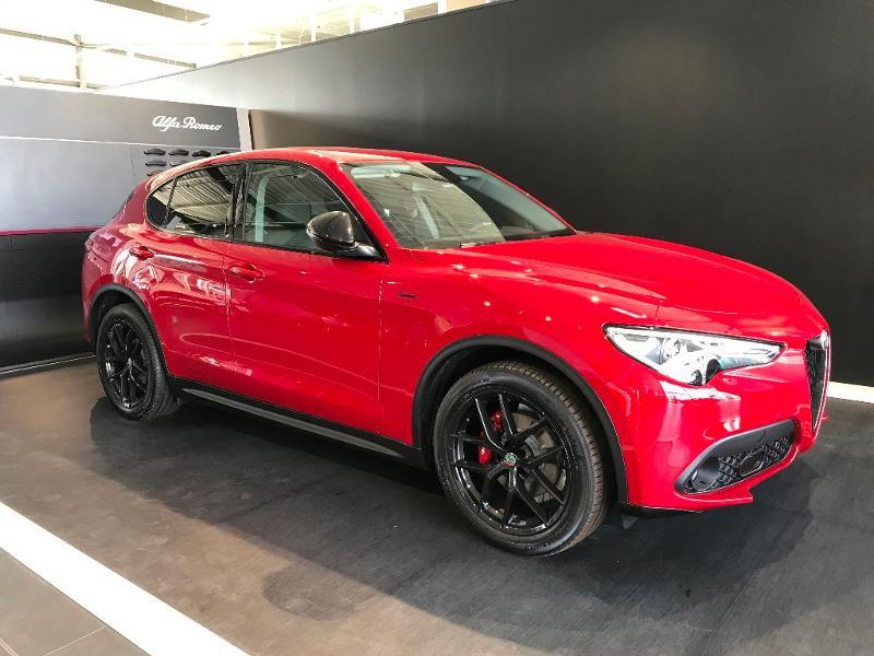 Alfa romeo Stelvio 2.2 Diesel 190ch Sprint Q4 AT8 MY21 Rouge occasion à Mérignac