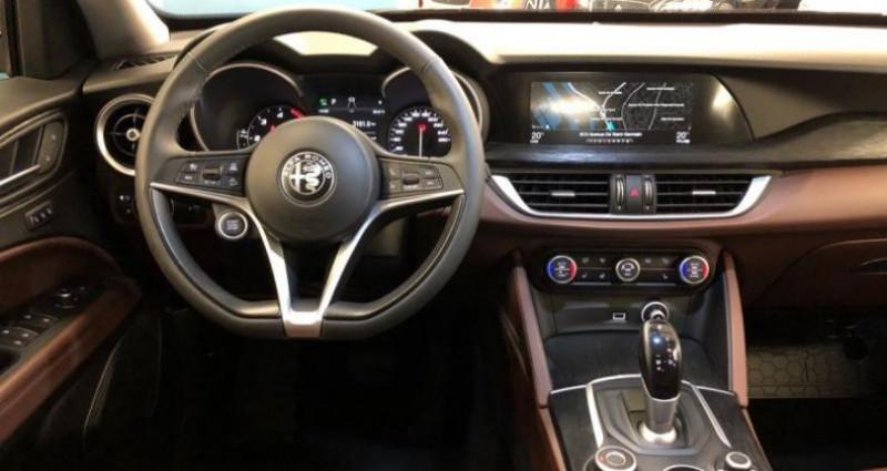 Alfa romeo Stelvio 2.2 Diesel 210ch Executive Q4 AT8 MY19 Gris occasion à Le Port-marly - photo n°7