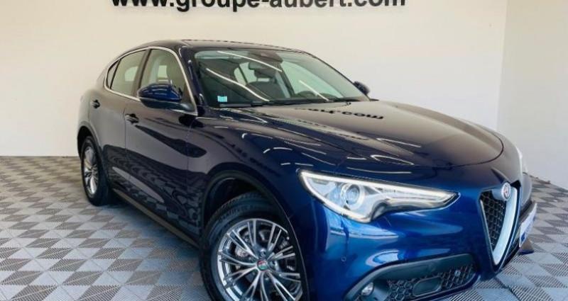 Alfa romeo Stelvio 2.2 Diesel 210ch Lusso Q4 AT8 Bleu occasion à TOURLAVILLE