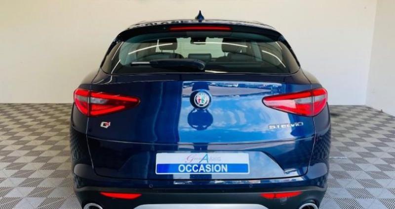 Alfa romeo Stelvio 2.2 Diesel 210ch Lusso Q4 AT8 Bleu occasion à TOURLAVILLE - photo n°5