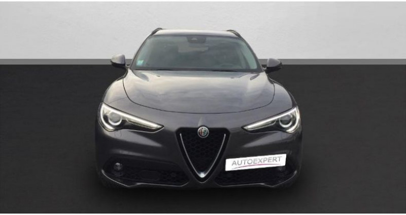 Alfa romeo Stelvio 2.2 Diesel 210ch Lusso Q4 AT8 Gris occasion à BEAUVAIS - photo n°3
