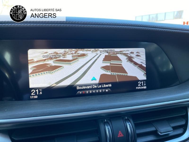 Alfa romeo Stelvio 2.2 Diesel 210ch Lusso Q4 AT8 Gris occasion à Angers - photo n°18