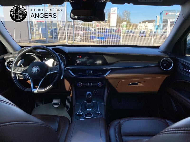 Alfa romeo Stelvio 2.2 Diesel 210ch Lusso Q4 AT8 Gris occasion à Angers - photo n°3