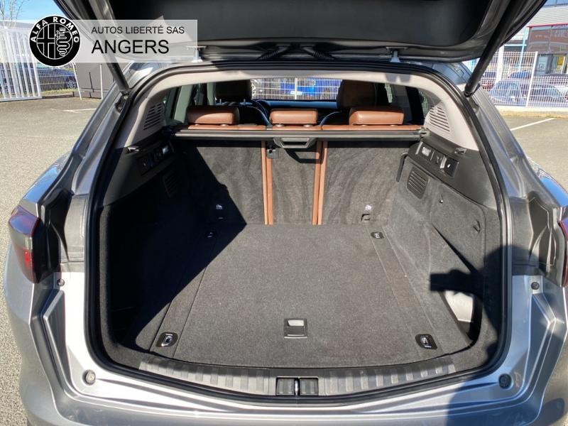 Alfa romeo Stelvio 2.2 Diesel 210ch Lusso Q4 AT8 Gris occasion à Angers - photo n°4