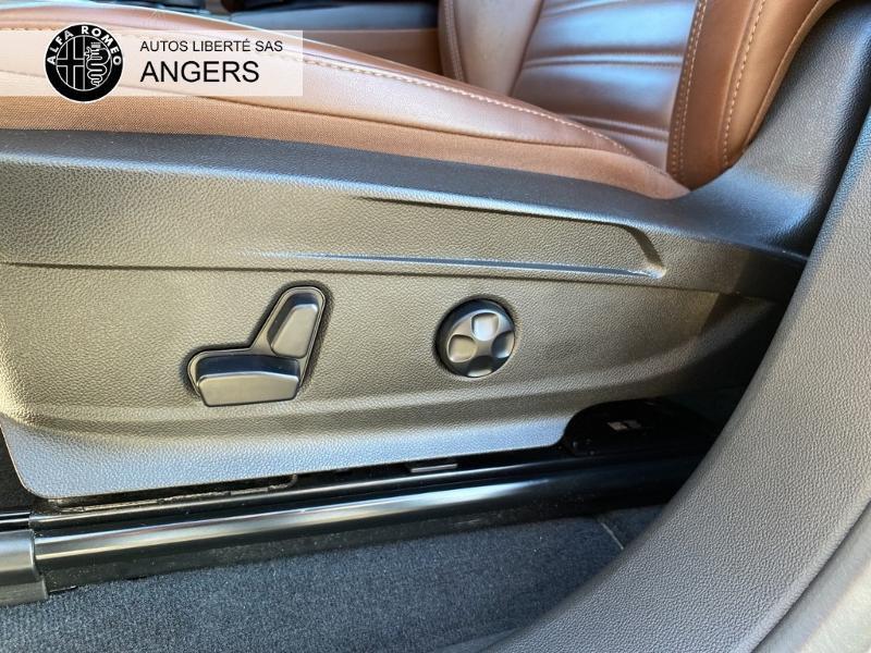 Alfa romeo Stelvio 2.2 Diesel 210ch Lusso Q4 AT8 Gris occasion à Angers - photo n°13