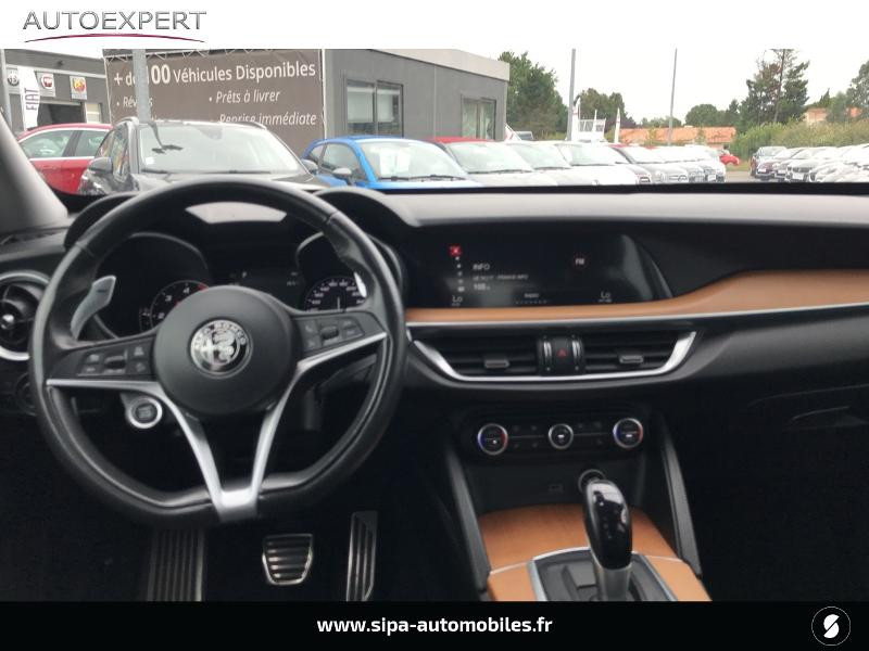 Alfa romeo Stelvio 2.2 Diesel 210ch Lusso Q4 AT8 Gris occasion à Mérignac - photo n°3