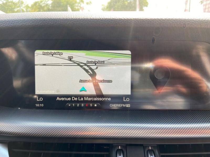 Alfa romeo Stelvio Q4 2.2 D 210 AT8 SUPER Cuir GPS Hifi TOE Gris occasion à Toulouse - photo n°12