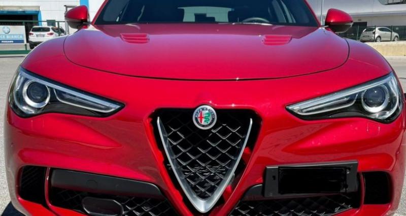 Alfa romeo Stelvio STELVIO 2.9 LITRES V6 Q4 Rouge occasion à SAINT LAURENT DU VAR - photo n°3
