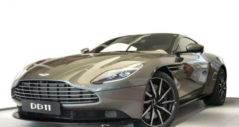 Aston martin DB11 Coupe V12, 4500Kms, Gtie usine # Vert occasion à Mudaison - photo n°2