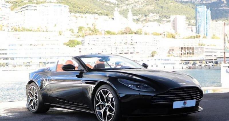 Aston martin DB11 V12 Bi-turbo 5.2 608ch BVA8 Noir occasion à MONACO - photo n°3