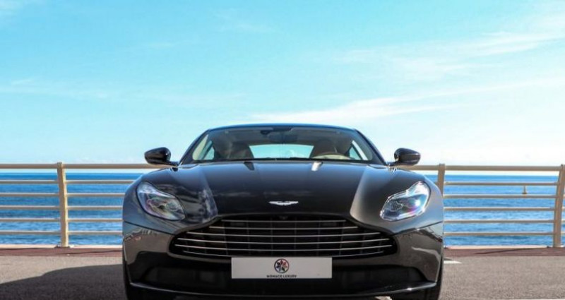 Aston martin DB11 V12 Bi-turbo 5.2 608ch BVA8 Marron occasion à MONACO - photo n°2