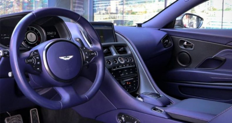 Aston martin DB11 V8 Blanc occasion à MONACO - photo n°4