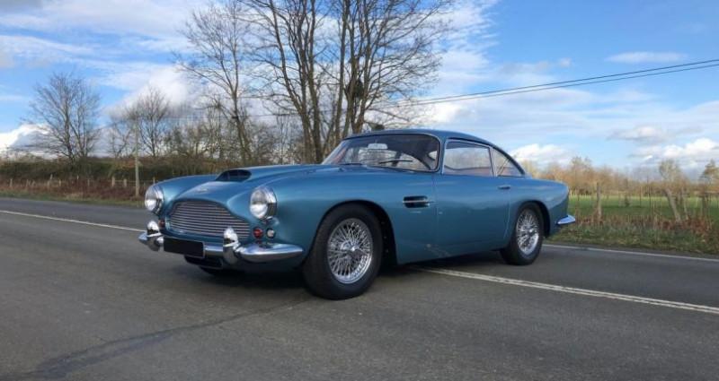Aston martin DB2/4 1961 Bleu occasion à Saint-saturnin - photo n°4