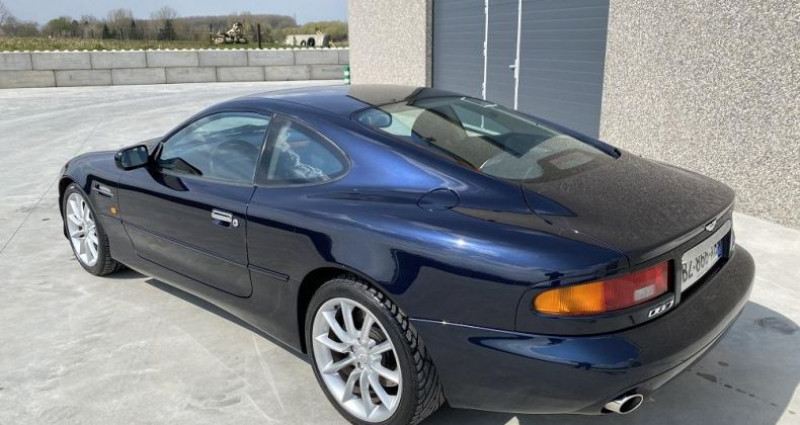 Aston martin DB7 V12 Bleu occasion à Braine Le Comte - photo n°6