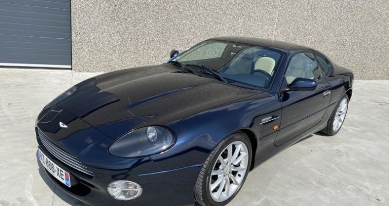 Aston martin DB7 V12 Bleu occasion à Braine Le Comte - photo n°2