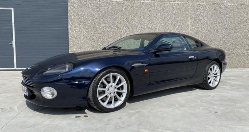 Aston martin DB7 V12 Bleu occasion à Braine Le Comte - photo n°3