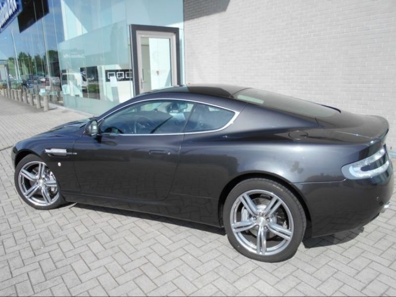 Aston martin DB9 Coupe Coupe 6.0 V12 517 Gris occasion à BEAUPUY - photo n°3