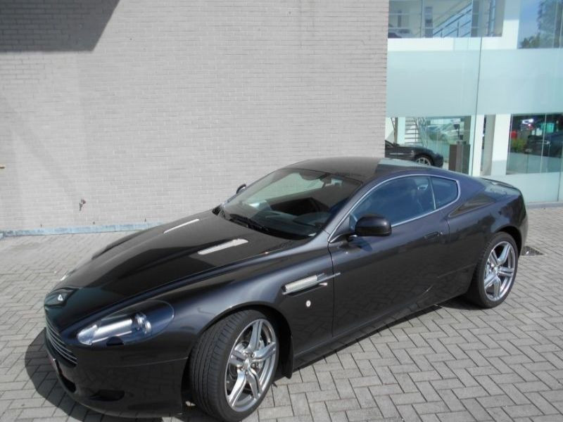 Aston martin DB9 Coupe Coupe 6.0 V12 517 Gris occasion à BEAUPUY - photo n°5