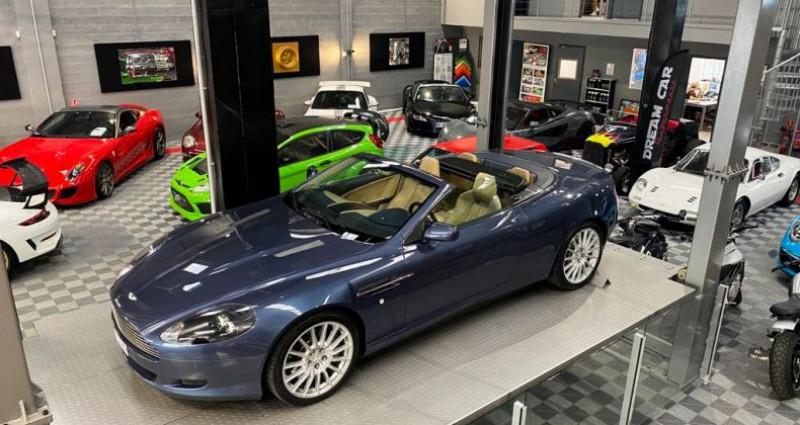 Aston martin DB9 Volante ASTON MARTIN DB9 VOLANTE 6.0 V12 Bleu occasion à SAINT LAURENT DU VAR