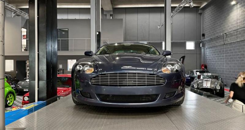 Aston martin DB9 Volante ASTON MARTIN DB9 VOLANTE 6.0 V12 Bleu occasion à SAINT LAURENT DU VAR - photo n°5