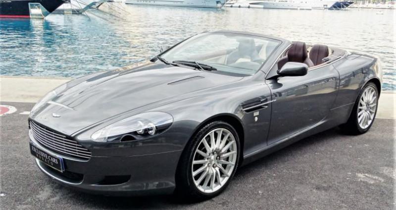 Aston martin DB9 Volante V12 VOLANTE 455 CV - MONACO Gris occasion à MONACO