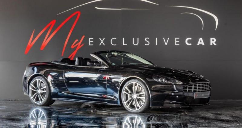 Aston martin DBS Volante V12 Carbon Black Edition - Historique 100% ASTON, Révisée 41 Noir occasion à LISSIEU - photo n°2