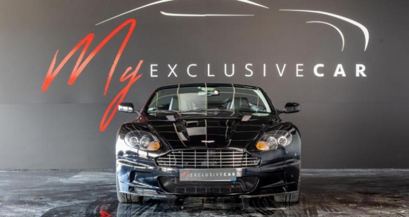 Aston martin DBS Volante V12 Carbon Black Edition - Historique 100% ASTON, Révisée 41 Noir occasion à LISSIEU - photo n°6