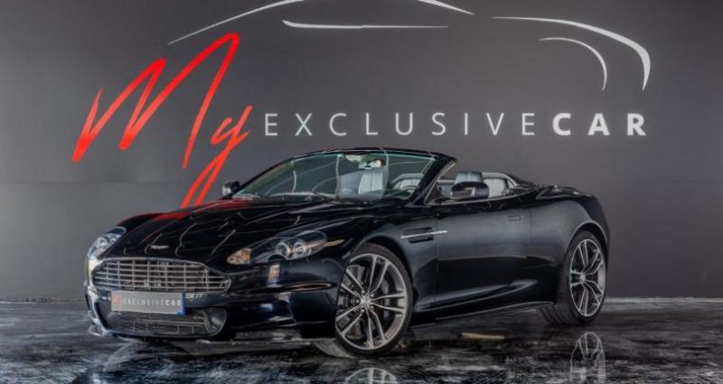 Aston martin DBS Volante V12 Carbon Black Edition - Historique 100% ASTON, Révisée 41 Noir occasion à LISSIEU