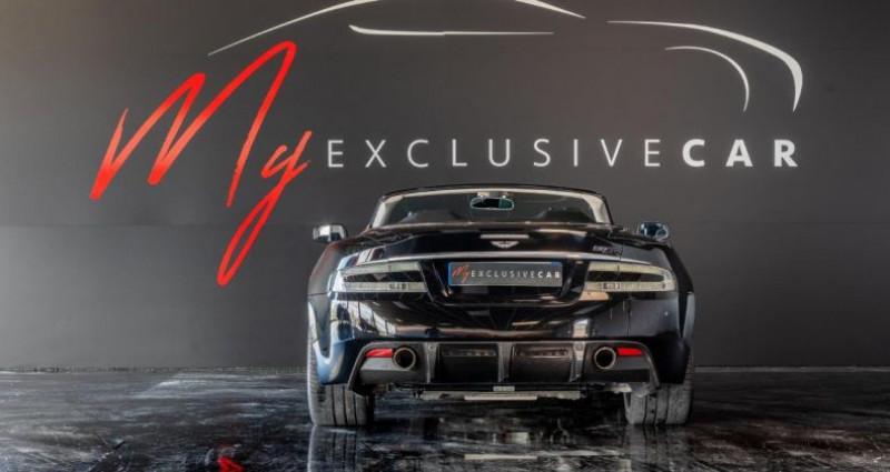 Aston martin DBS Volante V12 Carbon Black Edition - Historique 100% ASTON, Révisée 41 Noir occasion à LISSIEU - photo n°7