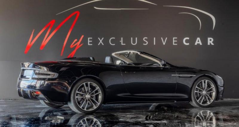 Aston martin DBS Volante V12 Carbon Black Edition - Historique 100% ASTON, Révisée 41 Noir occasion à LISSIEU - photo n°3