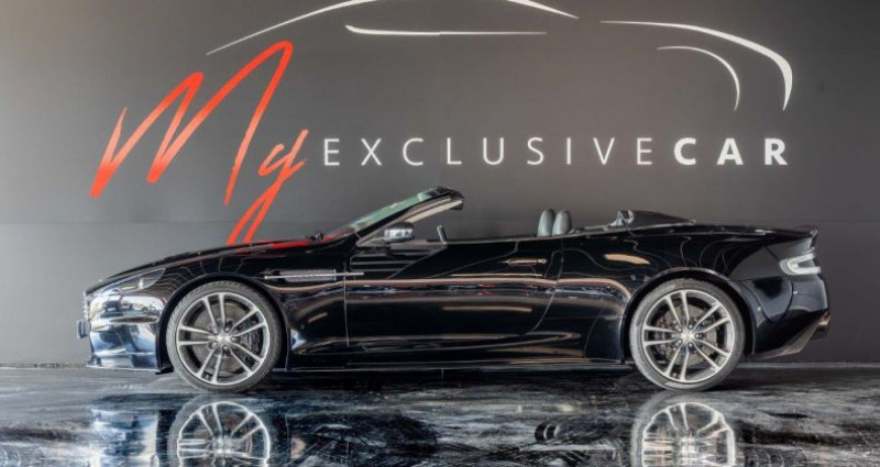 Aston martin DBS Volante V12 Carbon Black Edition - Historique 100% ASTON, Révisée 41 Noir occasion à LISSIEU - photo n°5