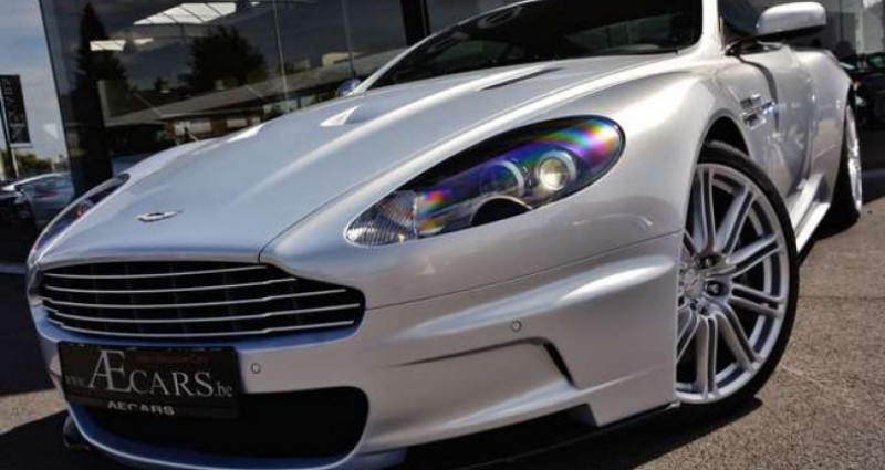 Aston martin DBS - TOUCHTRONIC - FULL HISTORY - 1 OWNER Gris occasion à IZEGEM