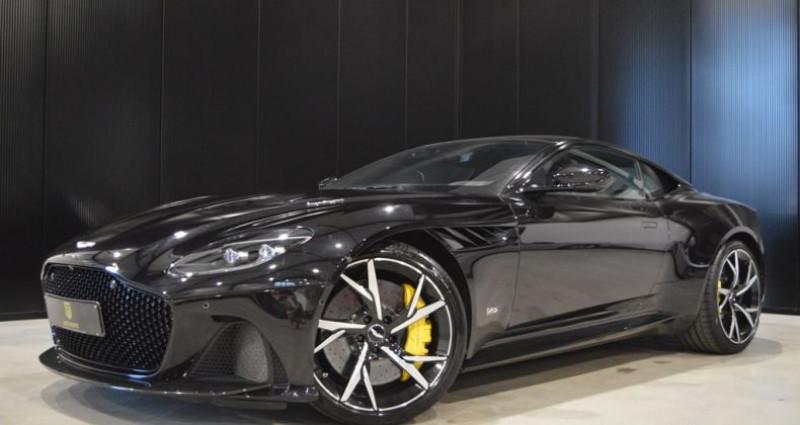 Aston martin DBS Superleggera 5.2i V12 725ch 1 MAIN !! 6.200 km !! Noir occasion à Lille