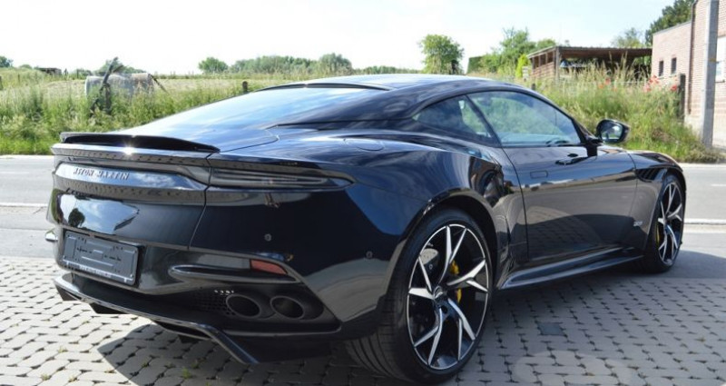 Aston martin DBS Superleggera 5.2i V12 725ch 1 MAIN !! 6.200 km !! Noir occasion à Lille - photo n°2